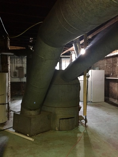 The old furnace